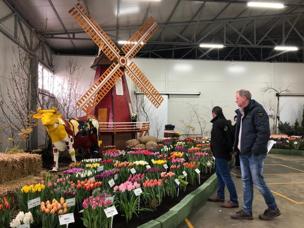 Haakman Flowerbulbs BV посетил выставку одного из крупных клиентов в России